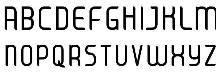 JUICE Regular Font UPPERCASE
