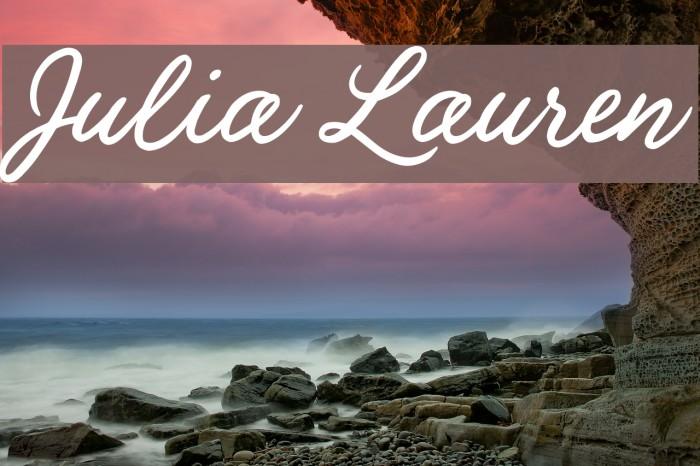 Julia Lauren Fuentes examples