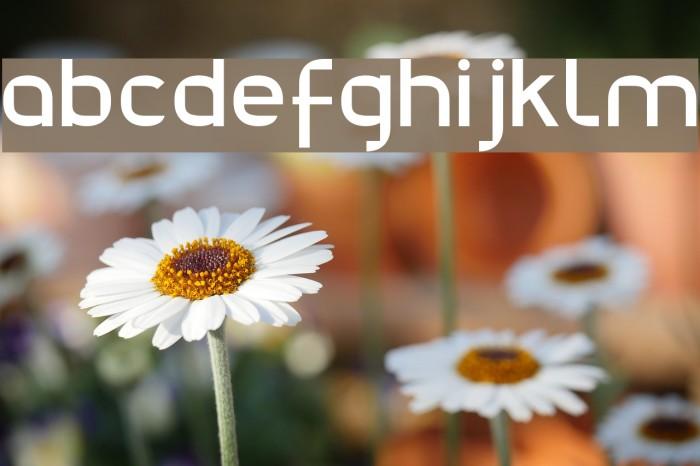 Julie01 Font examples