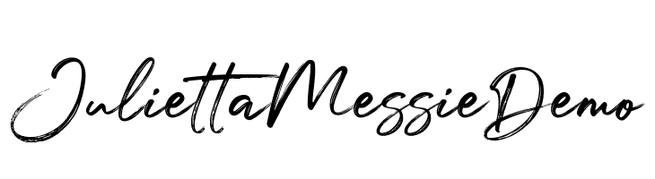 Julietta Messie Demo  Free Fonts Download