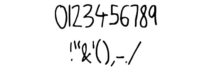 JW_Script Шрифта ДРУГИЕ символов