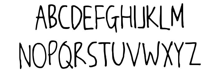 JW_Script Font UPPERCASE