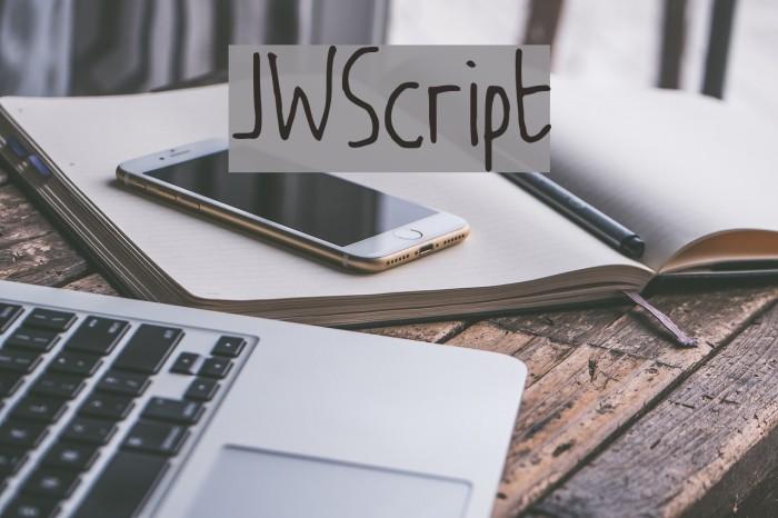 JW_Script Шрифта examples