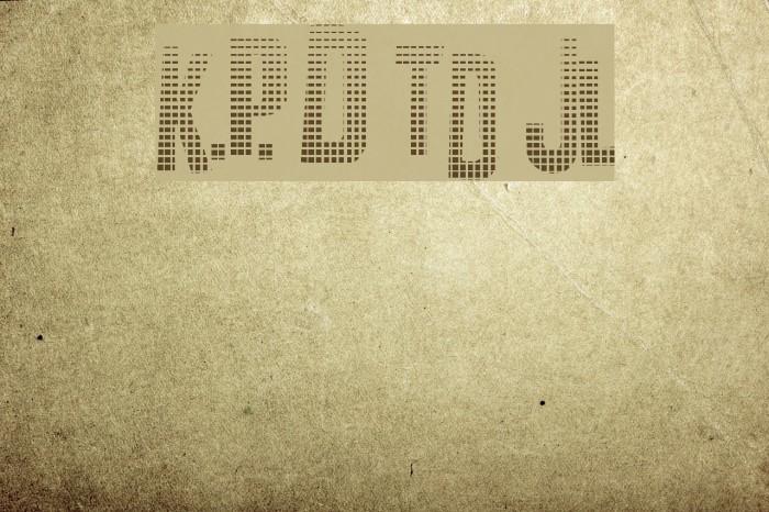 K.P. Duty Textured JL फ़ॉन्ट examples