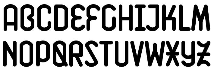 K Font LOWERCASE
