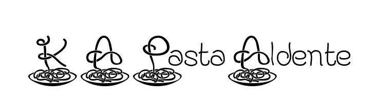 KAPastaAldente  Descarca Fonturi Gratis