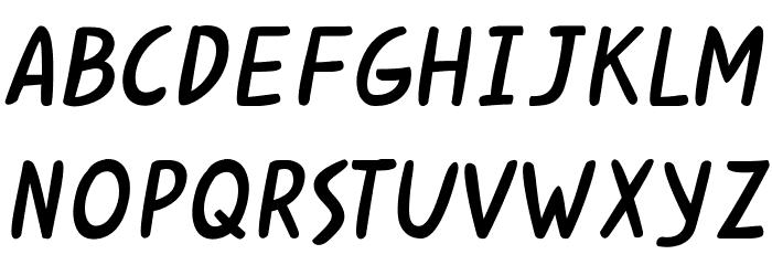 Kabuh Rivs Font UPPERCASE