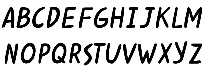 Kabuh Rivs Font LOWERCASE