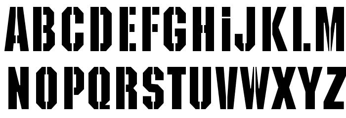 Kaiser Schriftart Kleinbuchstaben