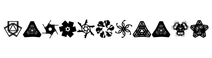KaleidoBats  Free Fonts Download
