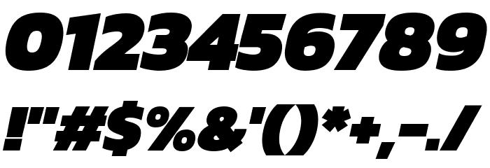 Kanit Black Italic لخطوط تنزيل حرف أخرى