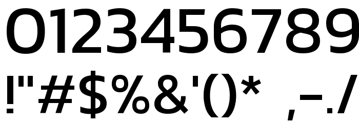 Kanit Font OTHER CHARS