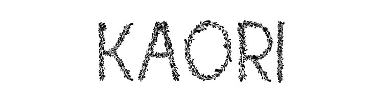 Kaori  Free Fonts Download