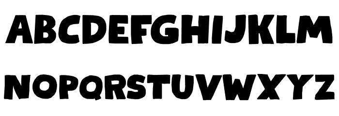 Kapsalon DEMO Regular Font UPPERCASE