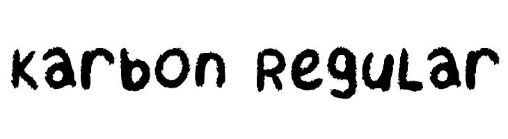 Karbon Regular  Free Fonts Download