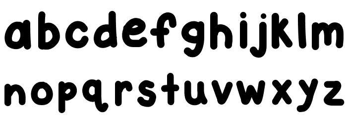 KBCloudyDay Шрифта строчной