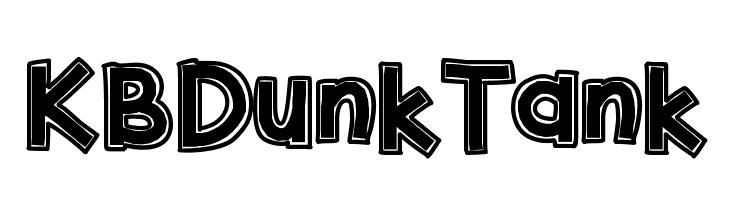 KBDunkTank  Free Fonts Download