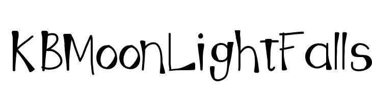 KBMoonLightFalls  baixar fontes gratis