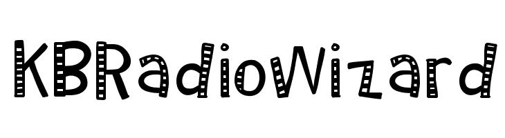 KBRadioWizard फ़ॉन्ट