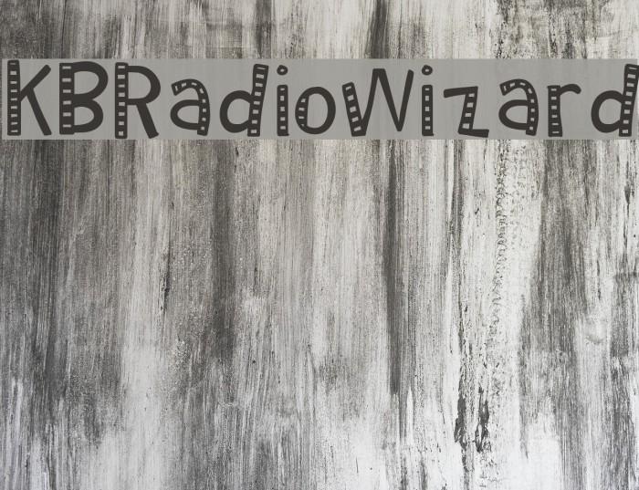 KBRadioWizard फ़ॉन्ट examples