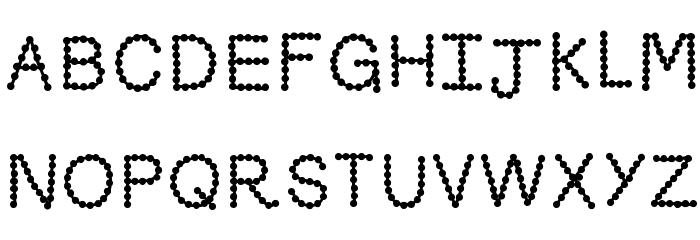 KBSkittledUp Font UPPERCASE