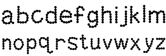 KBSkittledUp Font LOWERCASE