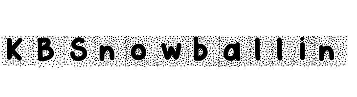 KBSnowballin  Free Fonts Download