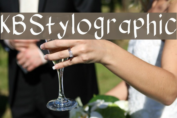KBStylographic Шрифта examples