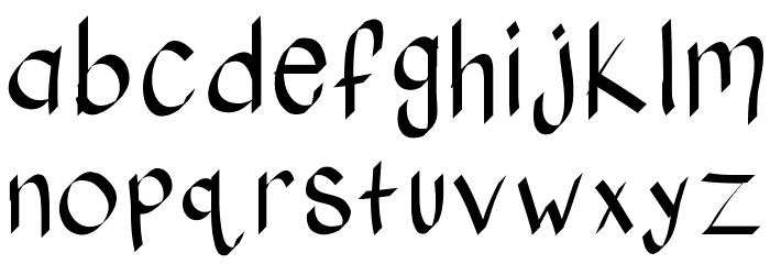 KBStylographic Шрифта строчной