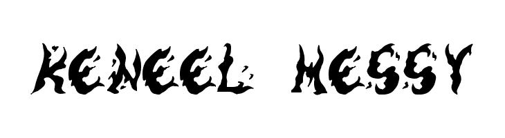 Keneel Messy  Скачать бесплатные шрифты