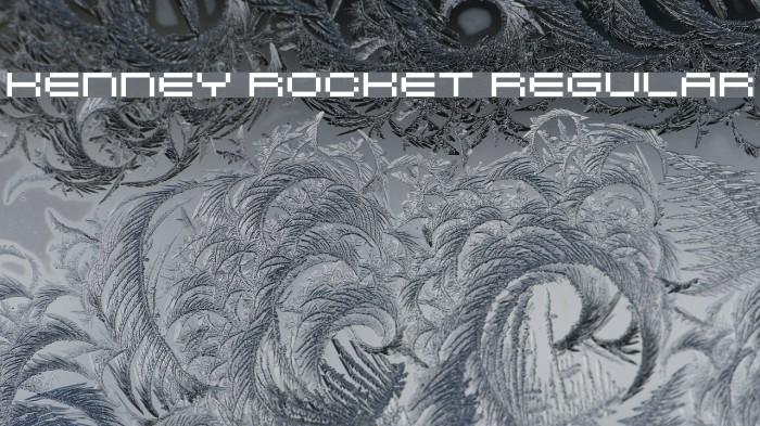 Kenney Rocket Regular لخطوط تنزيل examples