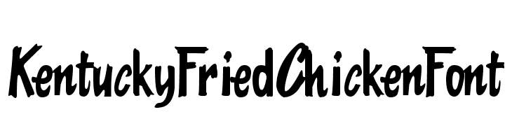 KentuckyFriedChickenFont  Скачать бесплатные шрифты