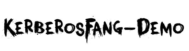 KerberosFang-Demo  Скачать бесплатные шрифты