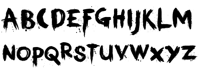 KerberosFang-Demo Шрифта ВЕРХНИЙ