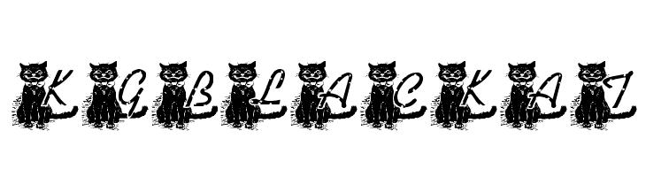 KG BLACKAT  les polices de caractères gratuit télécharger