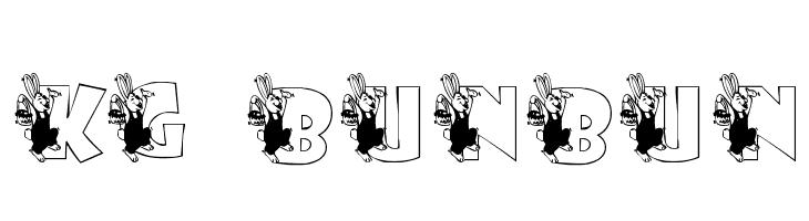 KG BUNBUN  नि: शुल्क फ़ॉन्ट्स डाउनलोड