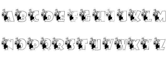KG BUNBUN Font UPPERCASE