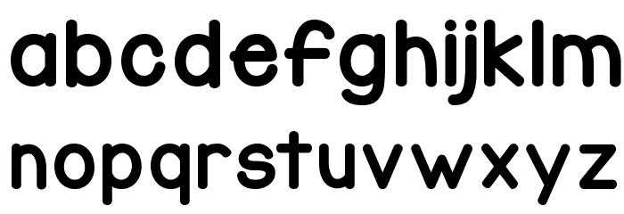 KG Corner of the Sky Font Litere mici