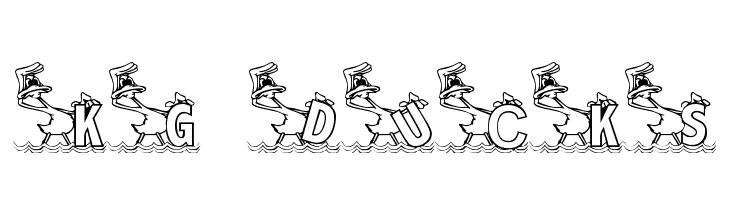KG DUCKS2  Free Fonts Download