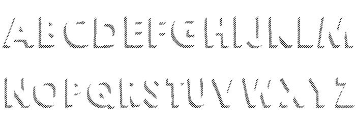KG HAPPY Shadows Font Litere mari
