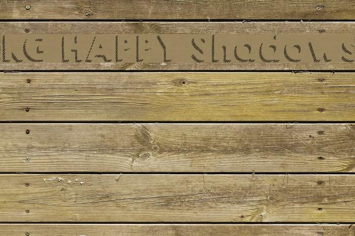 KG HAPPY Shadows Font examples