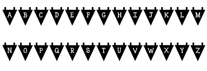 KG Royals Font LOWERCASE