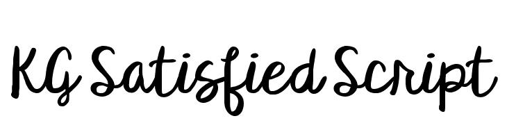 satisfy regular font free download