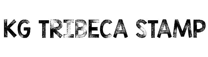 KG TRIBECA STAMP  Free Fonts Download