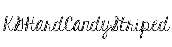 KGHardCandyStriped  Free Fonts Download
