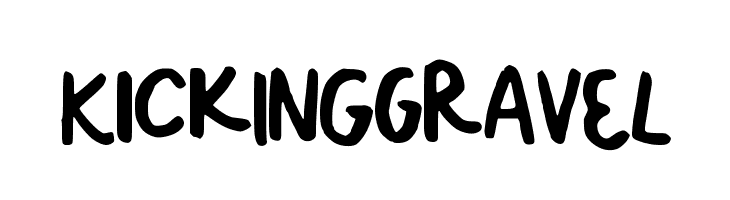 KickINGgrAVeL  Free Fonts Download