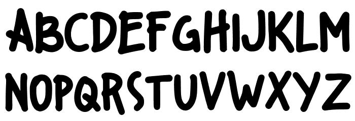 Kiddos Font UPPERCASE