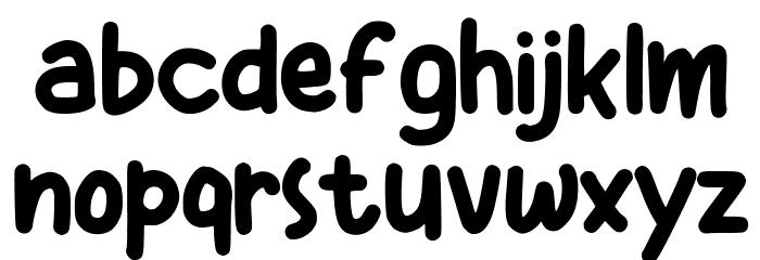 Kiddos Font LOWERCASE
