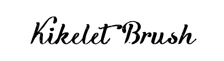 Kikelet Brush  Free Fonts Download