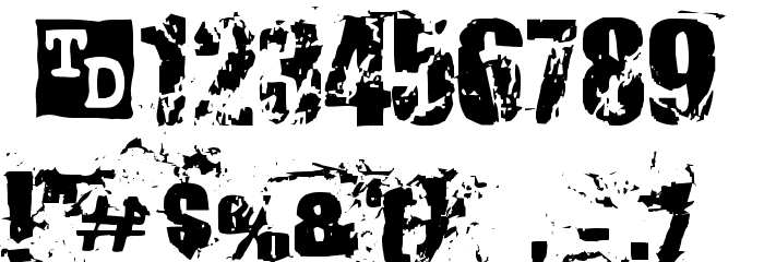 Killer Ants Trial Version Font OTHER CHARS